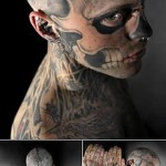How will the best tattoo concealer transform Zombie Boy Rick Genest?